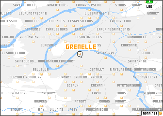 map of Grenelle