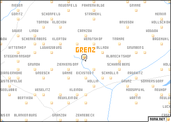 map of Grenz