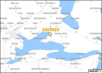 map of Greppen