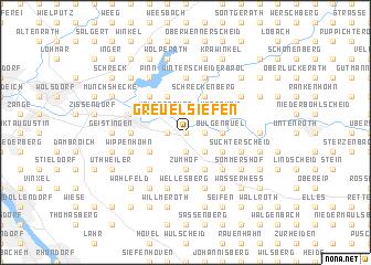 map of Greuelsiefen