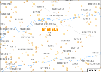 map of Grevels