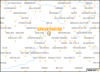 map of Grewenweise