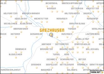 map of Grezhausen