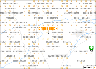 map of Griesbach