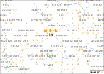 map of Griffen