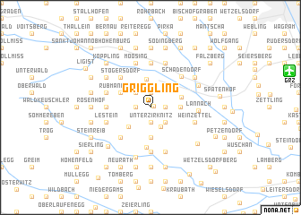 map of Griggling