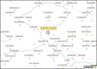 map of Grimzdai