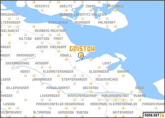 map of Gristow