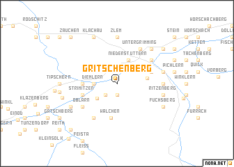 map of Gritschenberg