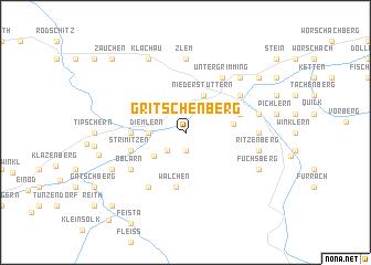 map of Gritschenberg