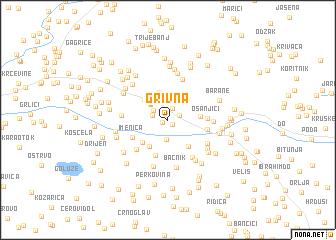map of Grivna