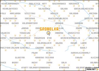 map of Grobelka