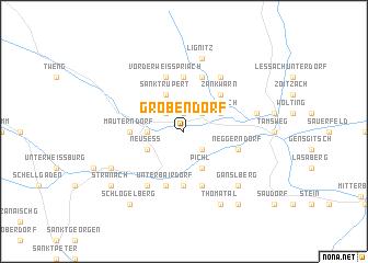 map of Gröbendorf