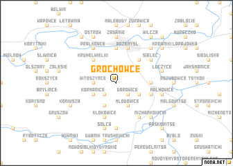 map of Grochowce