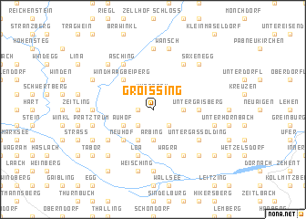 map of Groissing
