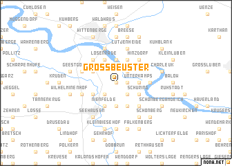 map of Groß Beuster