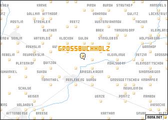 map of Groß Buchholz