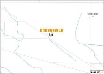 map of Grosse Isle