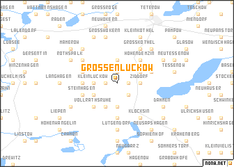 map of Großen Luckow