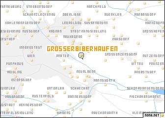 map of Großer Biberhaufen
