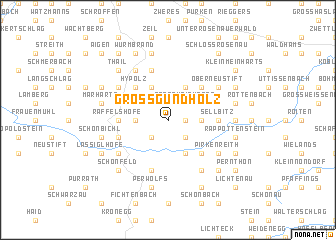 map of Grossgundholz