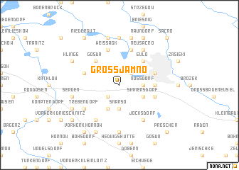 map of Groß Jamno