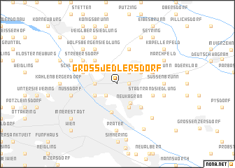 map of Groß-Jedlersdorf