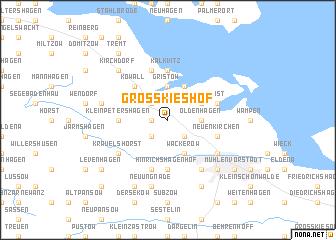 map of Groß Kieshof