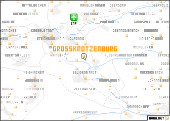 map of Großkrotzenburg