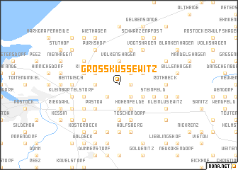 map of Groß Kussewitz