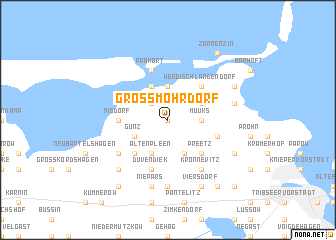 map of Groß Mohrdorf