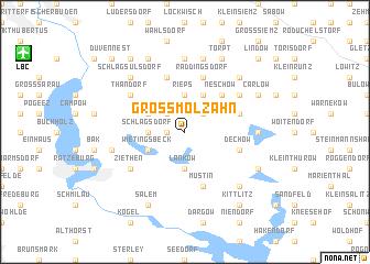 map of Groß Molzahn
