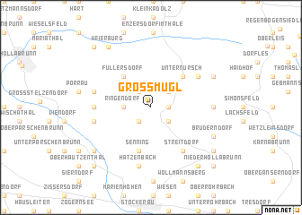 map of Großmugl