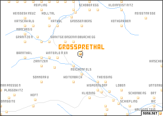map of Großprethal