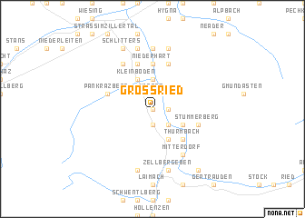 map of Grossried