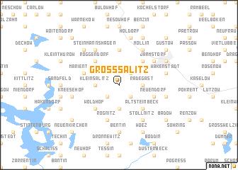 map of Groß Salitz