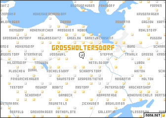 map of Groß Woltersdorf