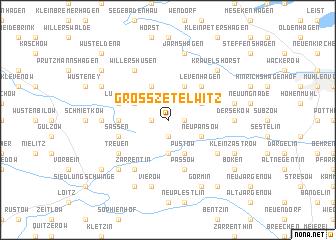map of Groß Zetelwitz