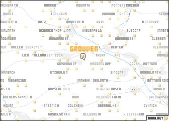 map of Grouven