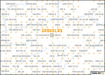 map of Grovelas