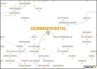 map of Grubbauerviertel