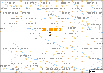 map of Grubberg