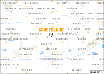map of Grube Alwine