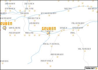 map of Gruben