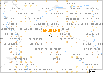 map of Grübern