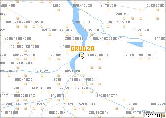 map of Grudza