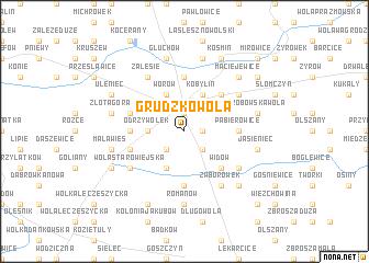 map of Grudzkowola