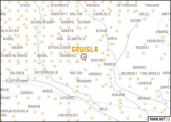 map of Gruisla