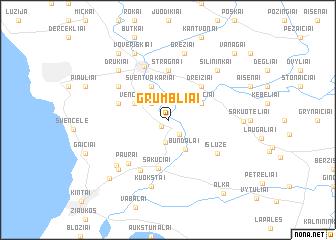 map of Grumbliai