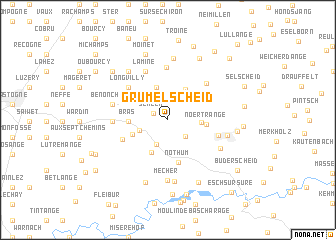map of Grumelscheid